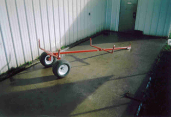 ATV Boat Trailer assembled