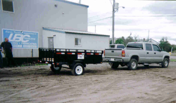 LBC Heavy Duty Utility Trailer